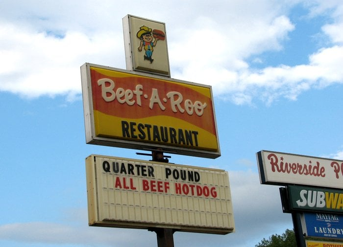 Beef-A-Roo: 727 Riverside Plz, Iron River, MI