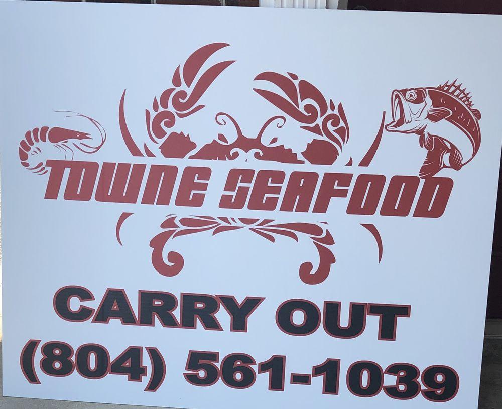 Towne Seafood: 16217 Goodes Bridge Rd, Amelia Court House, VA