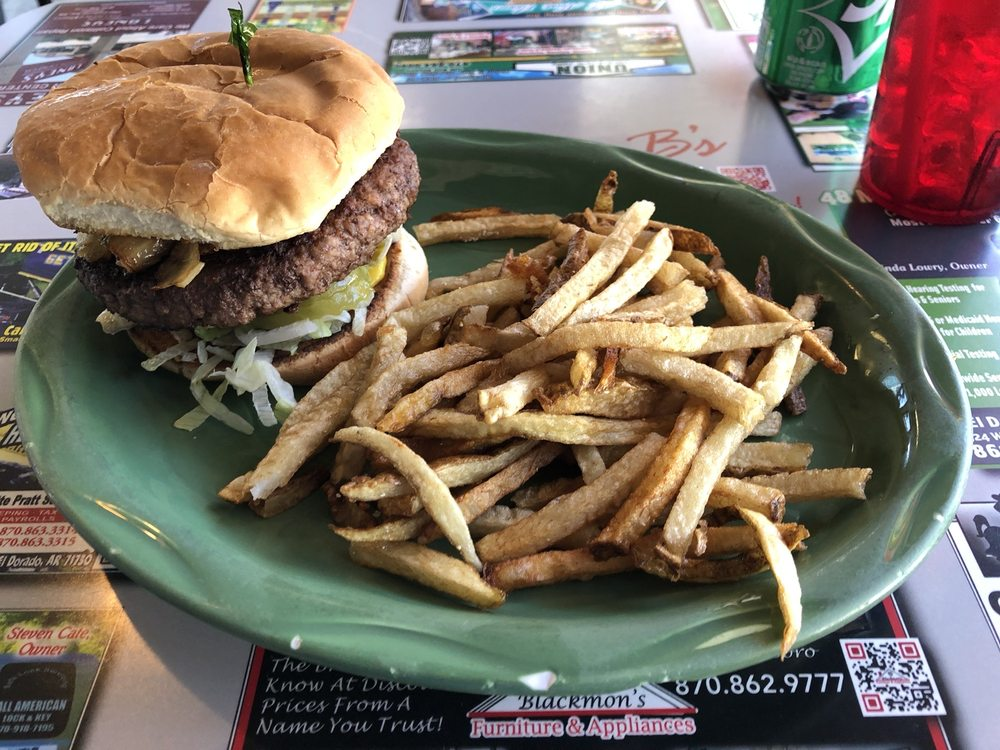Johnny B's Grill: 211 S West Ave, El Dorado, AR