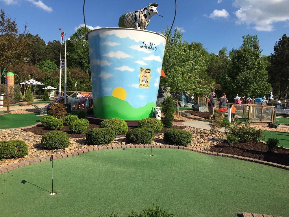 Bethpage Miniature Golf & Ice Creamery: 4817 Old Virginia St, Urbanna, VA
