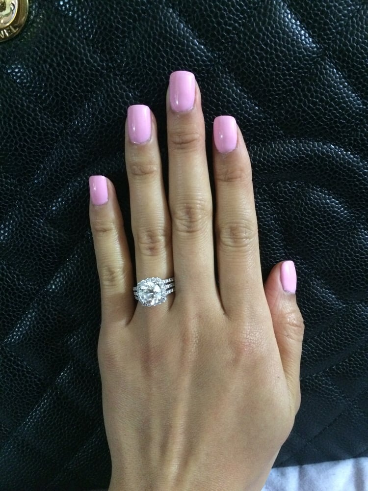 Gel manicure, color by Kiara Sky. - Yelp