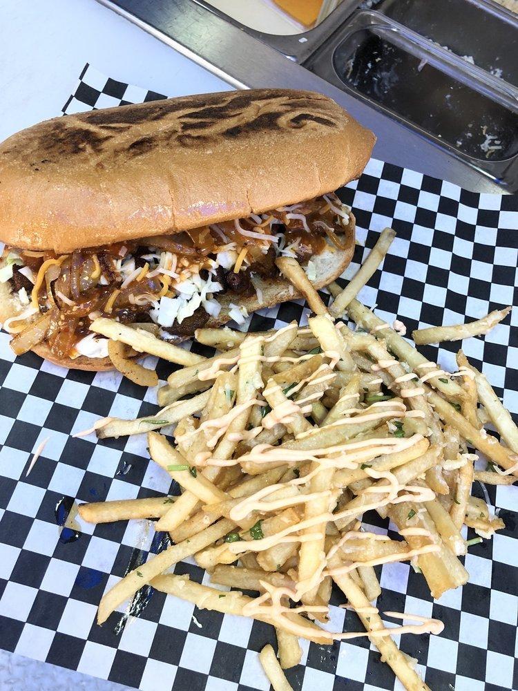 Fire Grill Burgers : 7081 broadway, Lemon Grove, CA