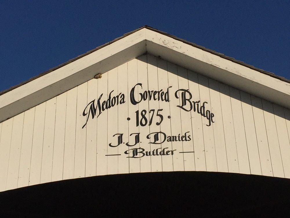 Medora Covered Bridge: State Road 235, Vallonia, IN