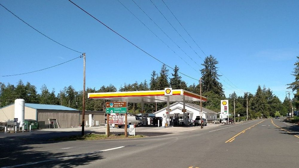 Bayside Gardens Shell & Grocery: 36453 Highway 101 N, Nehalem, OR