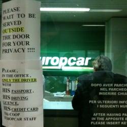 Europcar Italia Car Rental Via Aeroporto 1 Orio Al Serio