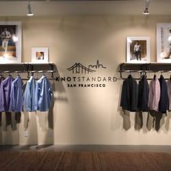 Knot standard bespoke clothing financial district for Bespoke shirts san francisco