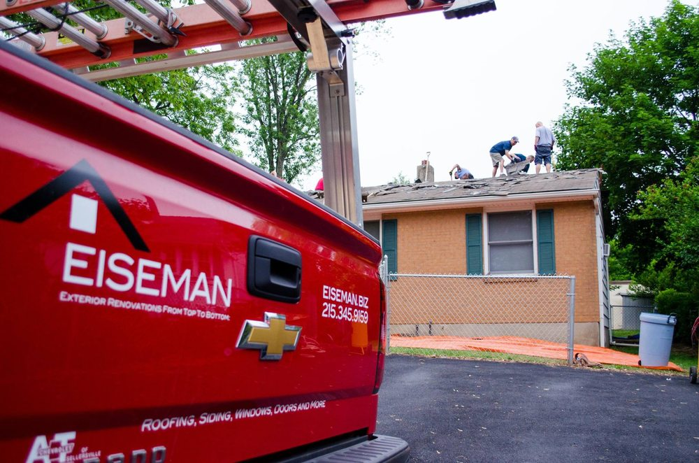 Eiseman Roofing and Siding: 110 S Sand Rd, Doylestown, PA