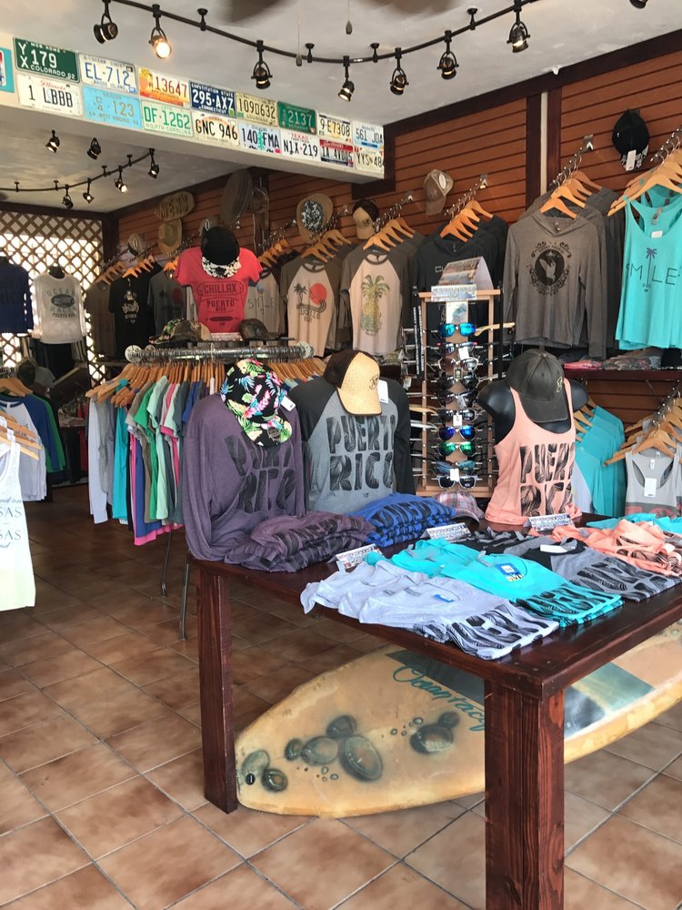 Monkey Threads: Luquillo Kiosk Strip 30, Luquillo, PR