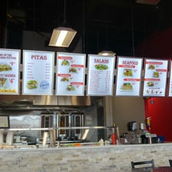 photo of flame mediterranean grill vaughan on canada menu aug 2016