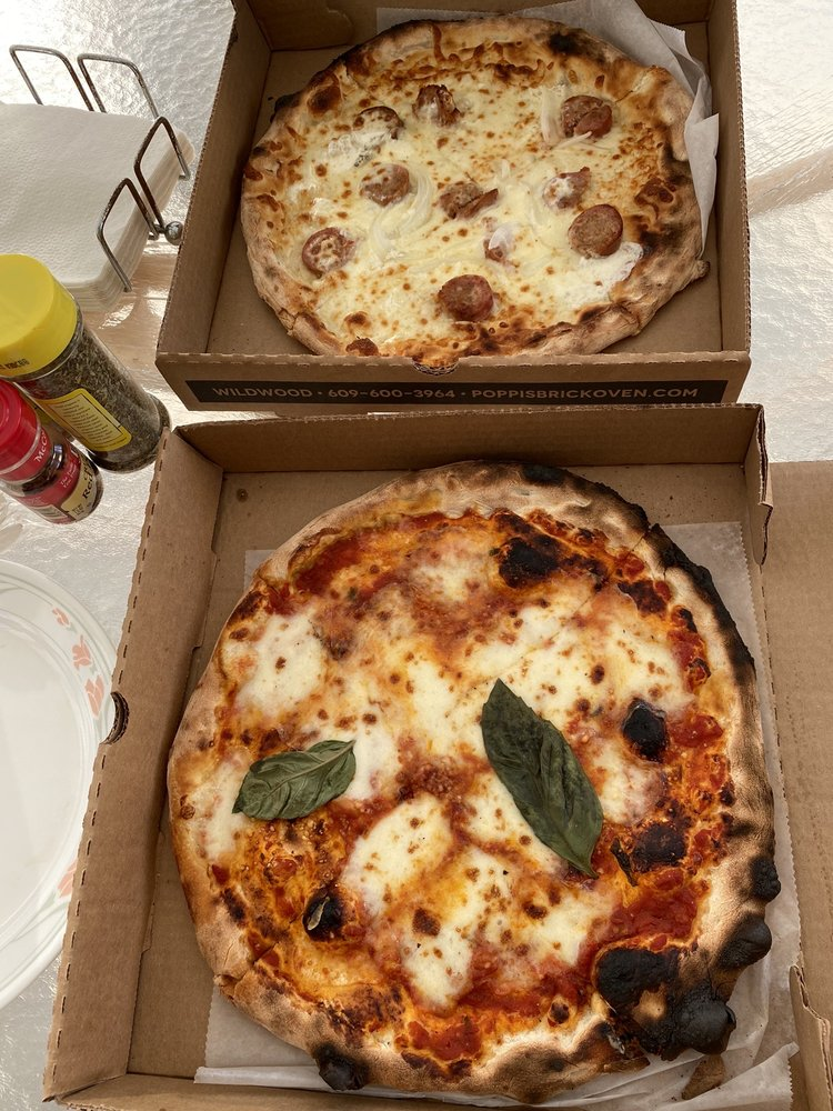 Poppi's Brick Oven Pizza: 4709 New Jersey Ave, Wildwood, NJ