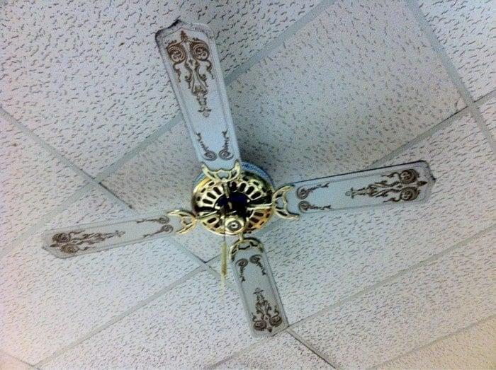 Captivating Photo Of Schlotzskyu0027s   Richardson, TX, United States. Really Old Ceiling  Fan