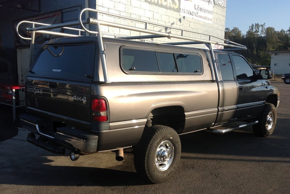 Truck Long Bed Aluminum Camper Shell