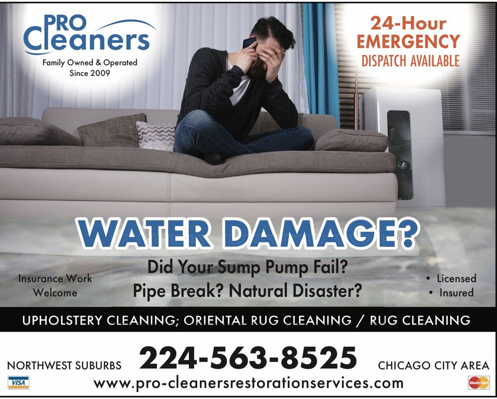 Pro-Cleaners Restoration Services: Lake in the Hills, IL