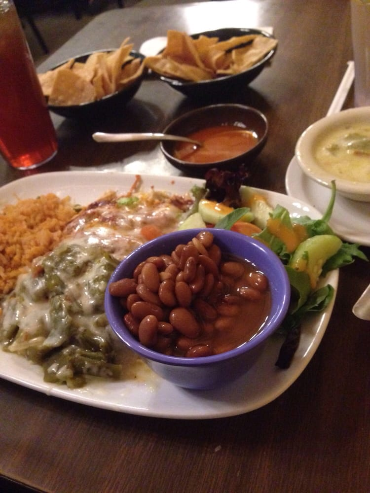 Chile Chicken Enchiladas Christmas Style Whole Beans And