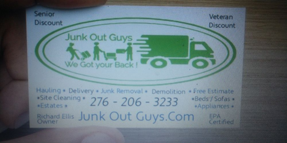 Junk Out Guys: Chilhowie, VA