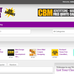 Rockport Shopper - Free Classified Want Ads - Advertising - 1573 Fm