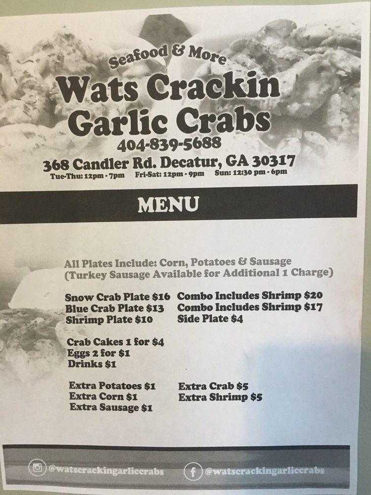 Photos for Wats Crackin Garlic Crabs - Yelp