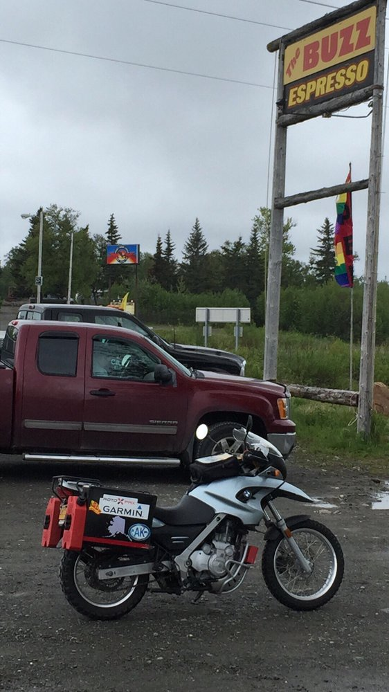 The Buzz Cafe: Mile 1355 Sterling Hwy, Ninilchik, AK