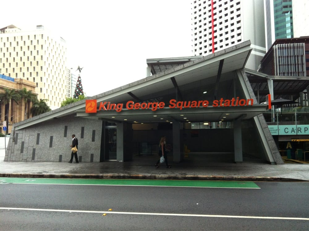 King George Square Station: Albert St, Brisbane, QLD