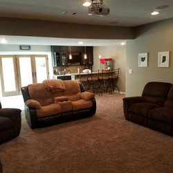 Basement Remodeling Indianapolis basement finishing indiana - get quote - contractors - 6750 e
