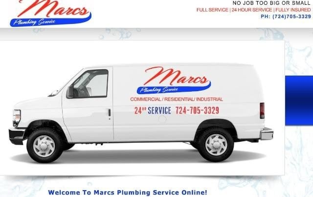 Marc's Plumbing Service: Rt 519, Eighty Four, PA