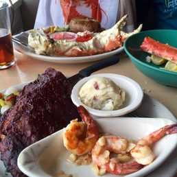 Photo Of The Shrimp Box U0026 Outside The Box Patio Bar   Point Pleasant Beach,