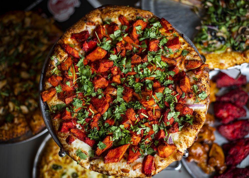 The Curry Pizza Company - Walnut: 376 S Lemon Ave, Walnut, CA