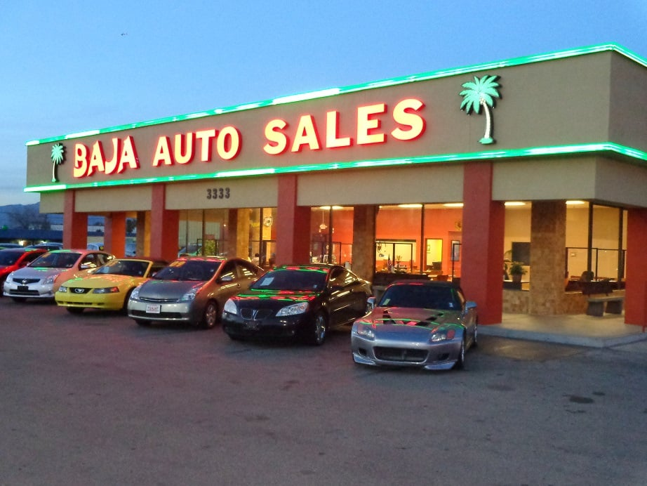 Baja Auto Sales >> Car Dealer Las Vegas Nv Yelp