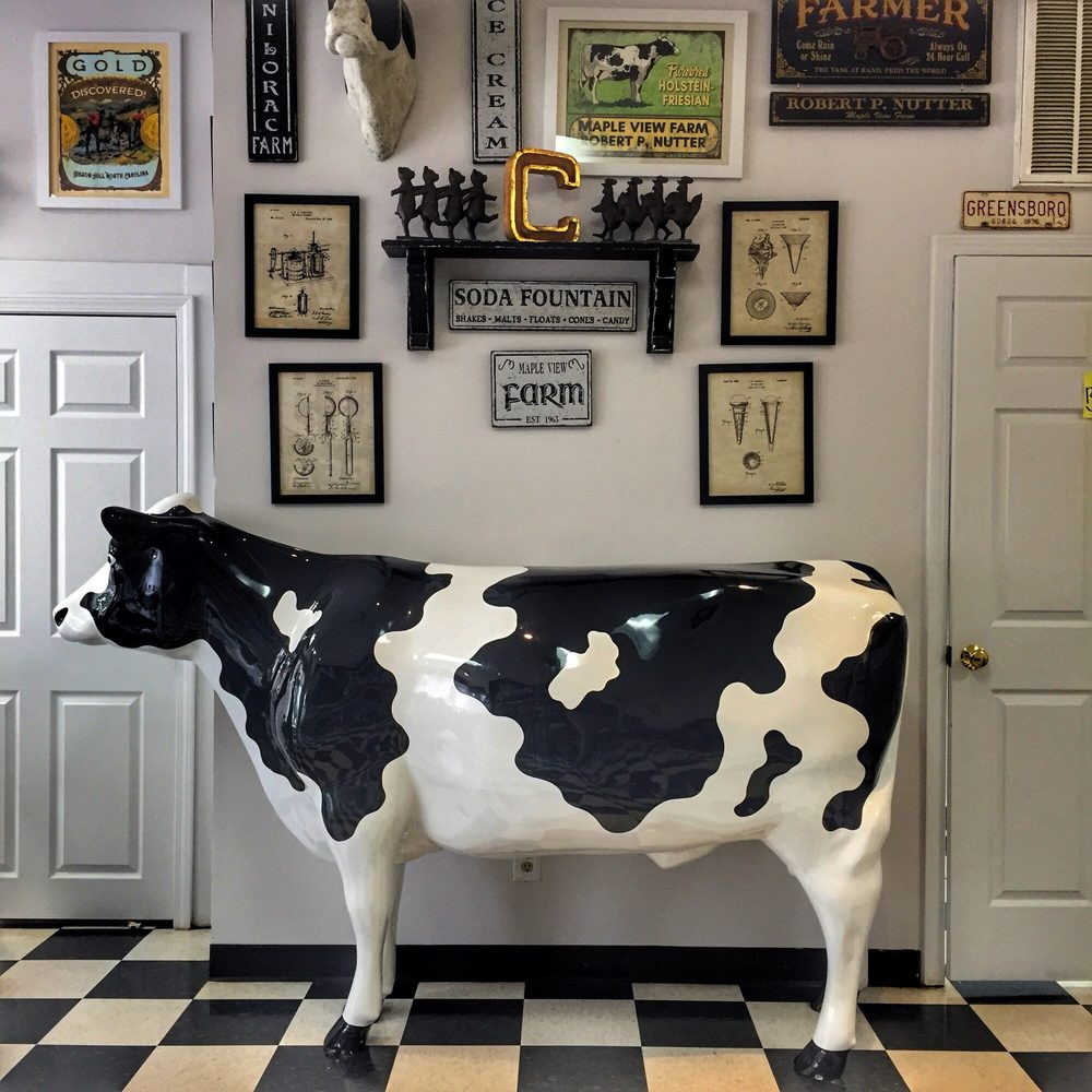Mapleview's County Line Creamery: 113 E Main St, Gibsonville, NC