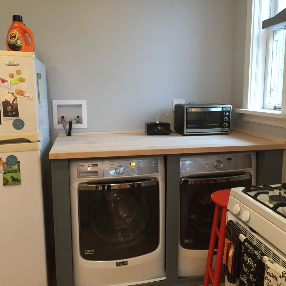 Photo Of Warnaar Construction Services Chicago Il United States Washer Dryer Enclosure