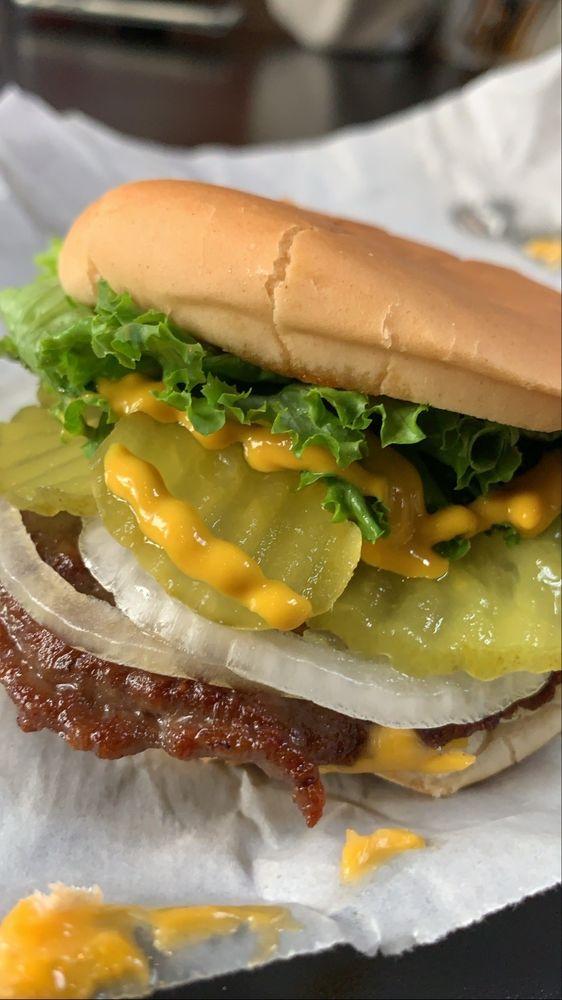 Brown Bag Burgers: 350 4th St, Henderson, KY