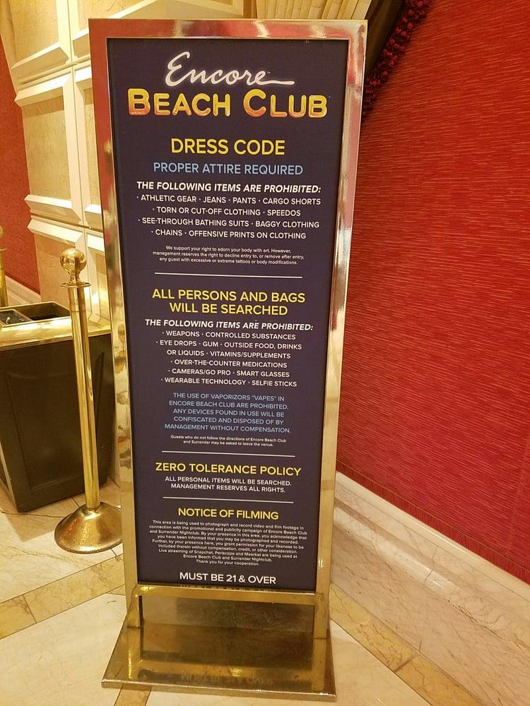 Encore Beach Club Food Menu The Best Beaches In World