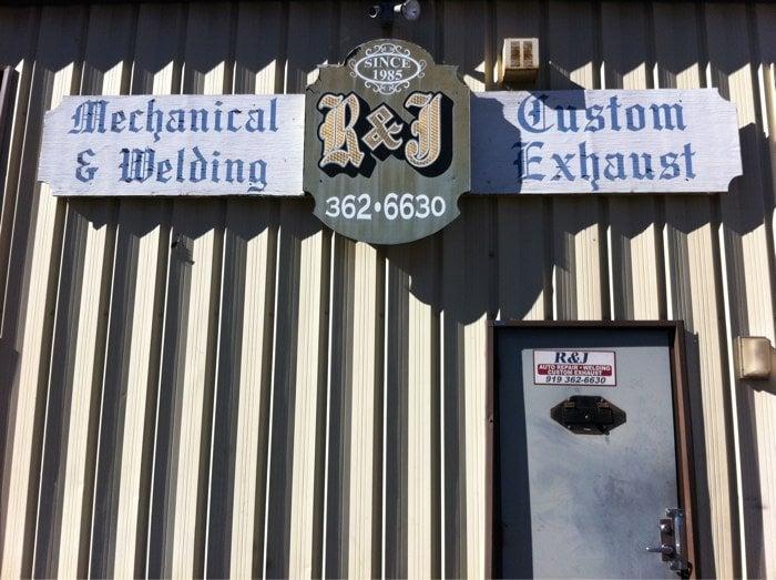 R & J Custom Exhaust: 554 E Williams St, Apex, NC