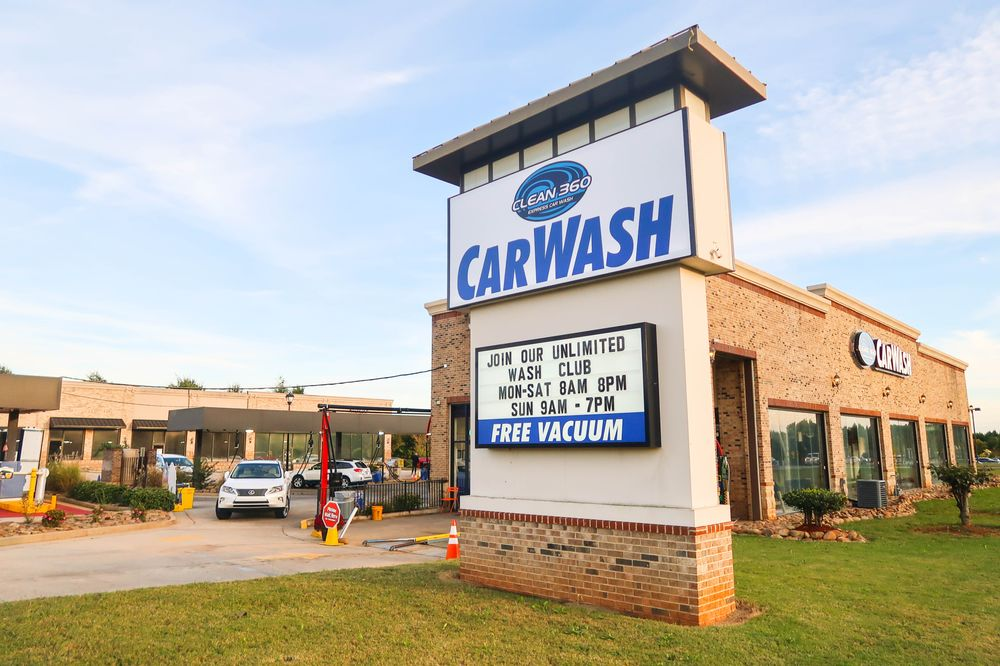 Clean 360 Express Car Wash: 220 Racetrack Rd, McDonough, GA