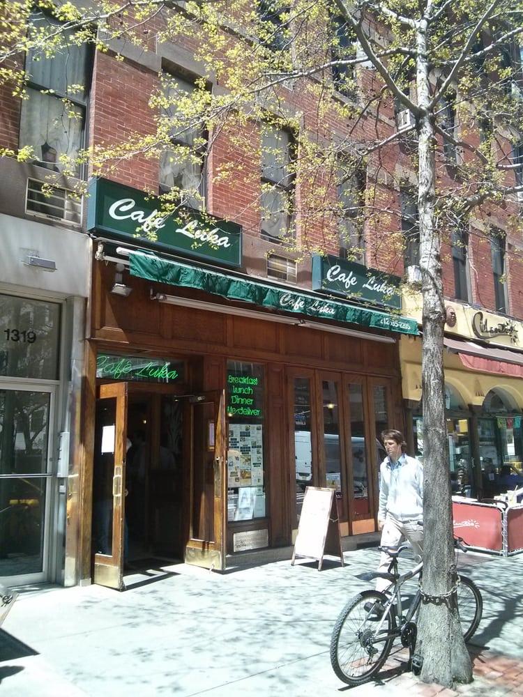 Cafe Luka  St Ave Ny