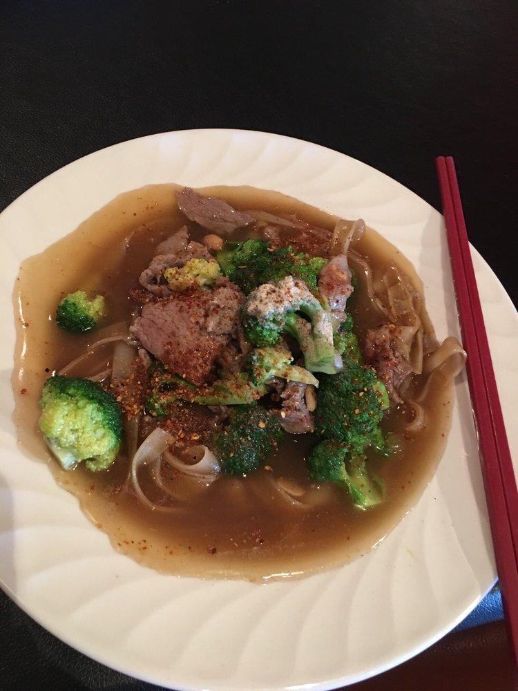 Food from Bann Thai