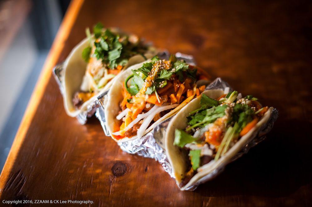 ZZAAM Fresh Korean Grill: 349 N State College Blvd, Fullerton, CA
