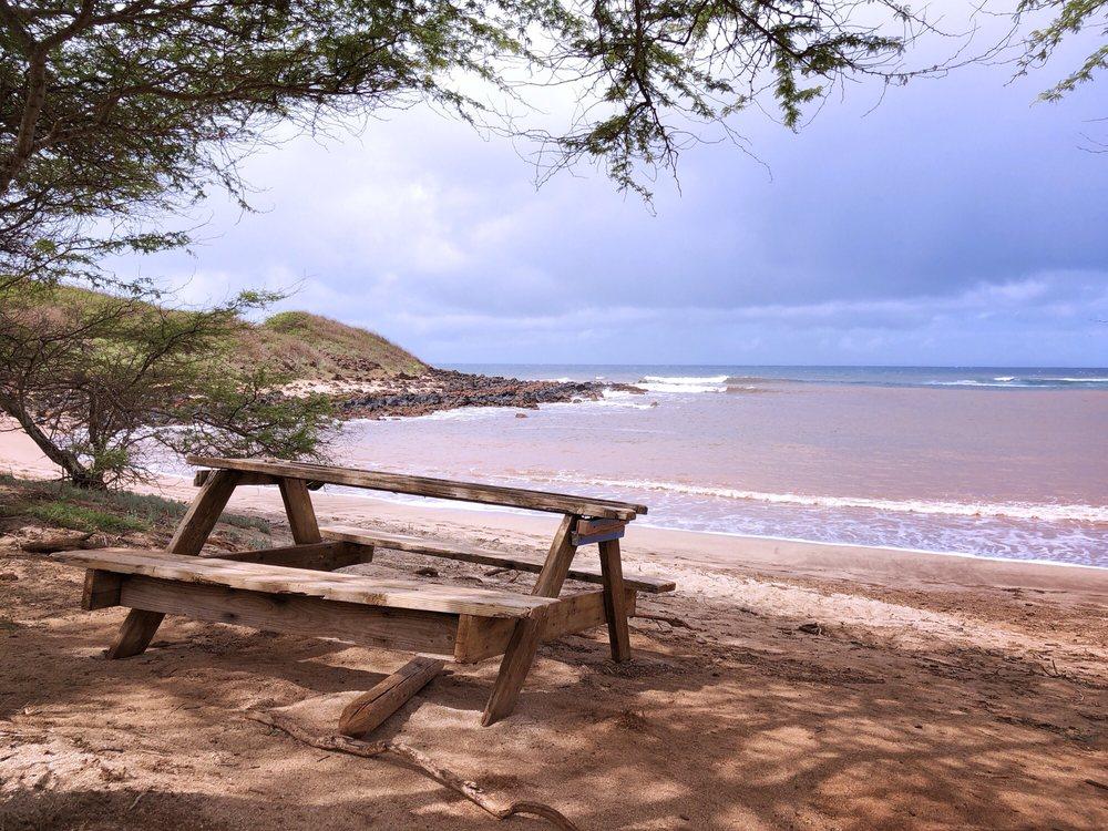 Dixie Maru Beach: 4800 Pohakuloa Rd, Kaunakakai, HI