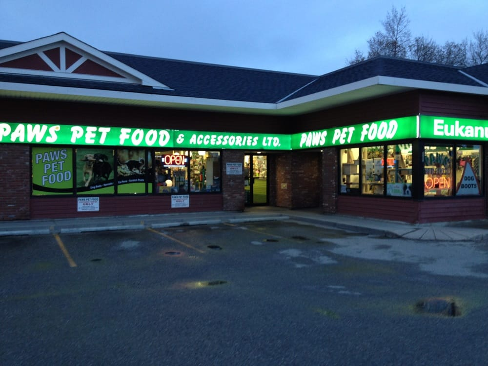 paws pet food amp accessories   pet stores   17 avenue sw