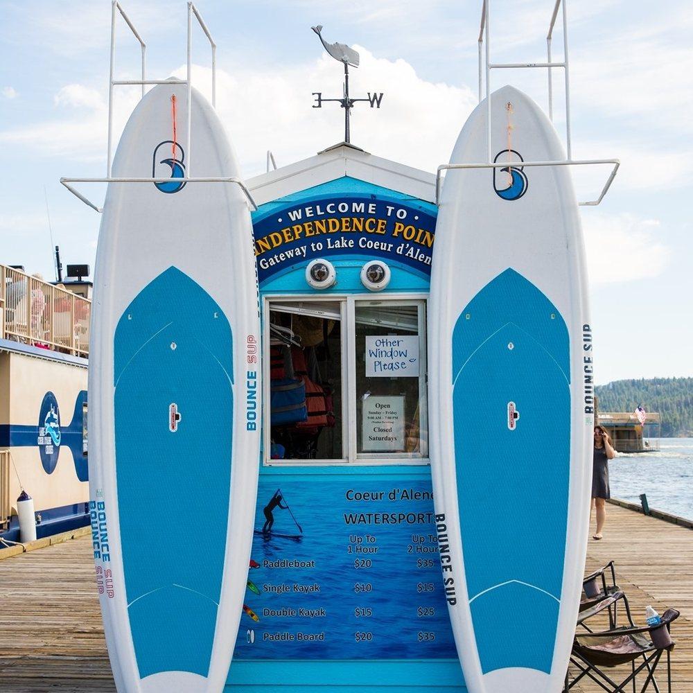 Coeur d'Alene Watersports: Independence City Dock Pt, Coeur d'Alene, ID
