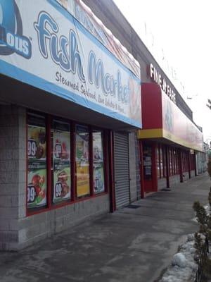 Fine fare closed grocery 113 09 springfield blvd for Fish market queens