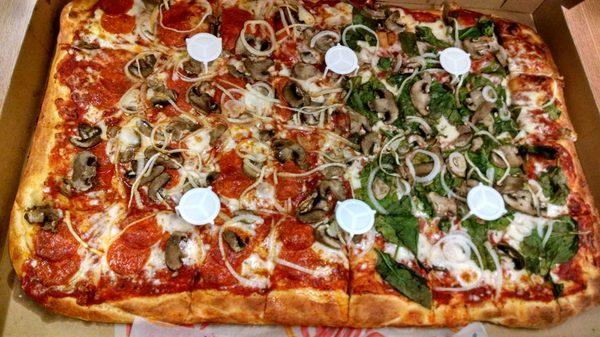 ad0e0f3e Photo of Cam's Pizzeria - Rochester, NY, United States. Sheet mushroom/onion