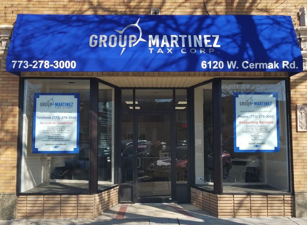 Group Martinez Tax Corp: 6120 W Cermak Rd, Cicero, IL
