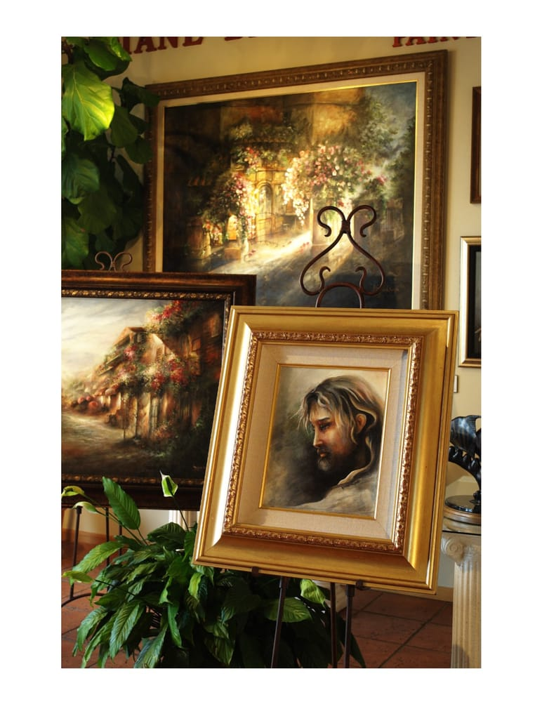 Commission paintings by internationally recognized artist Diane ...
