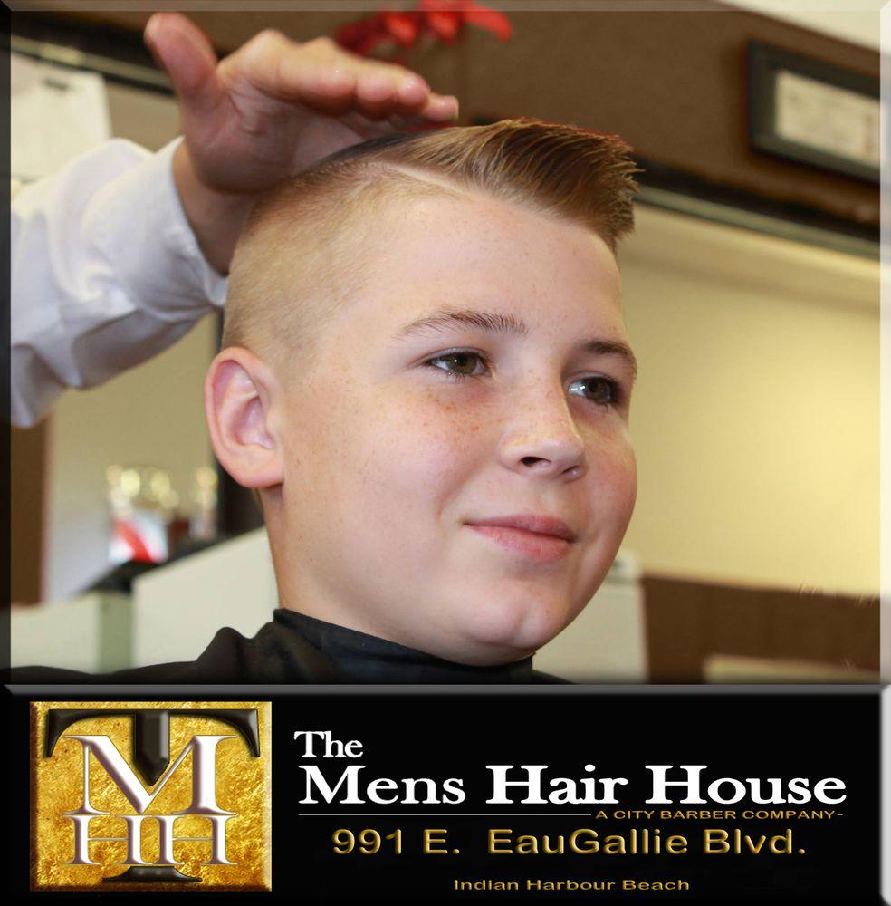 The Mens Hair House: 991 E Eau Gallie Blvd, Indian Harbour Beach, FL