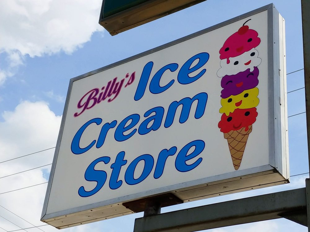 Billy's Ice cream store: 308 Nile Kinnick Dr S, Adel, IA