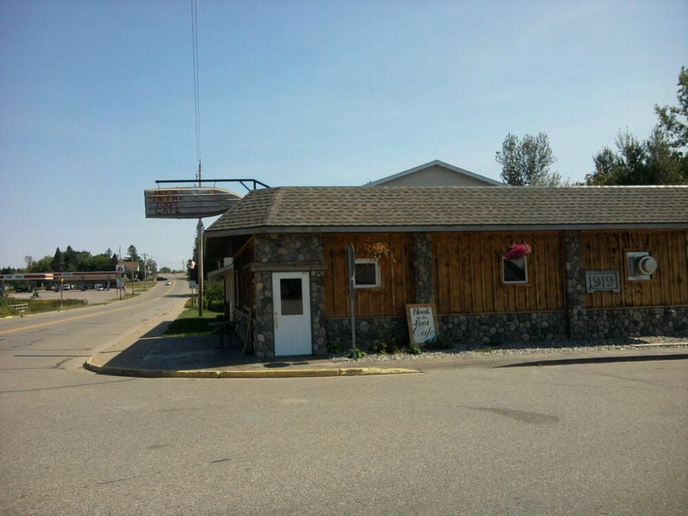 Hook In The Foot Cafe: 2644 Trump Lake Rd, Wabeno, WI