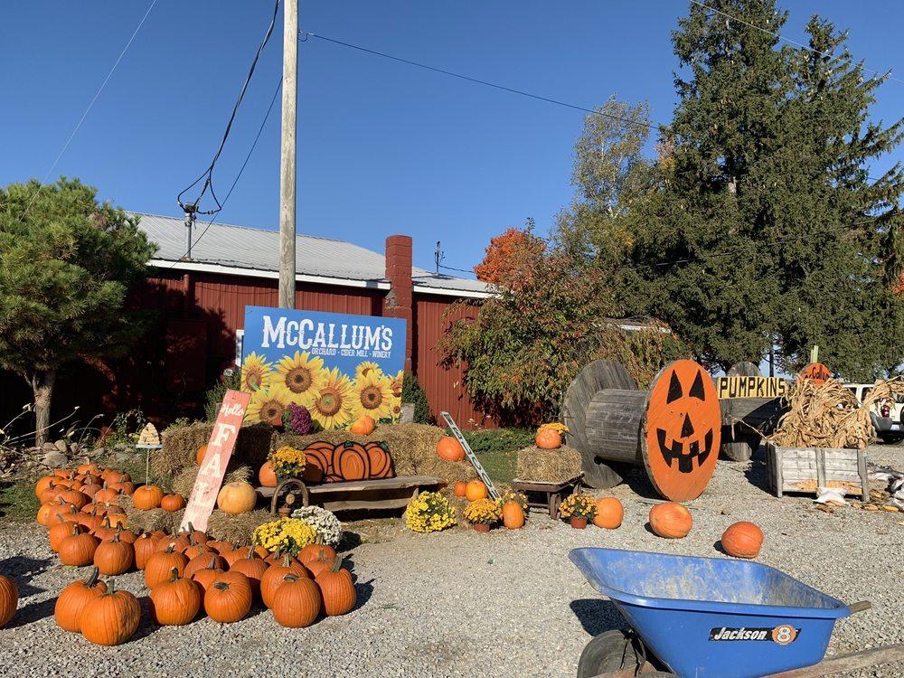 McCallum's Orchard & Cider Mill: 5697 Harris Rd, Jeddo, MI