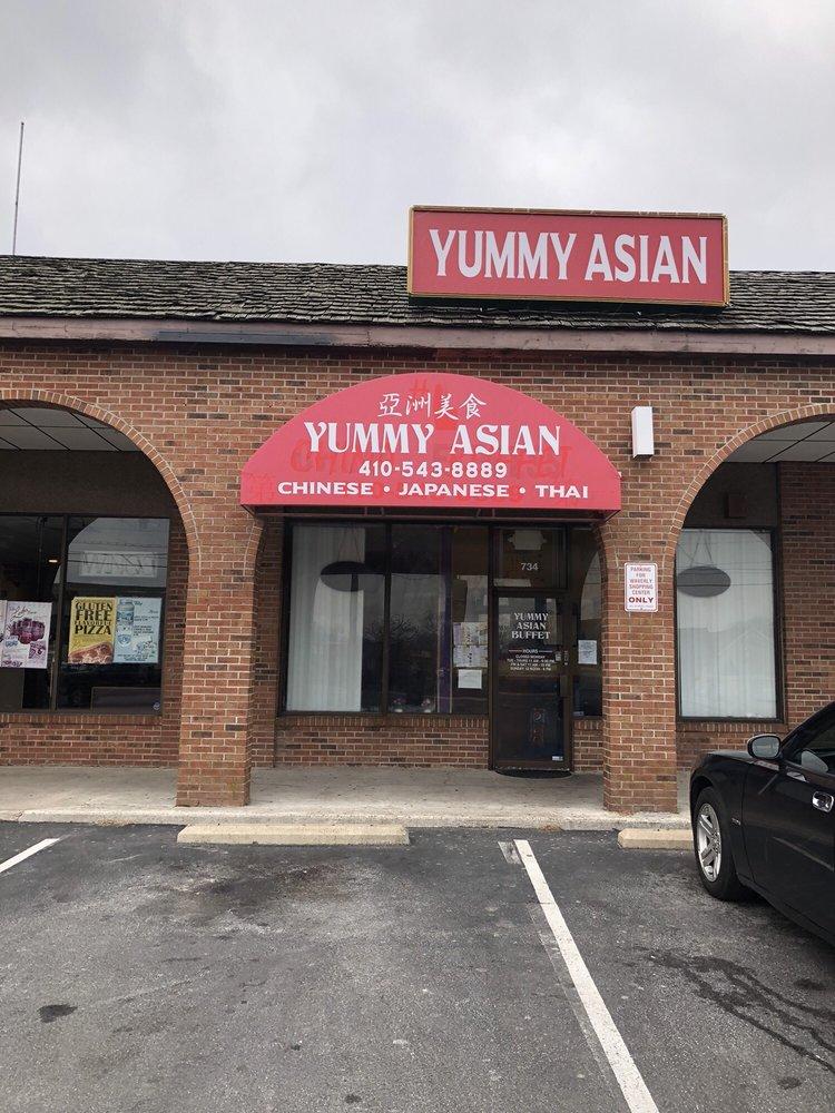 Yummy Asian: 734 S Salisbury Blvd, Salisbury, MD