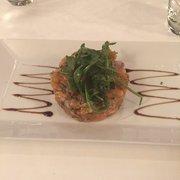 Au Boeuf Couronné - Paris, France. Salmon tartare. Very good